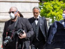 Tenorul Andrea Bocelli critica guvernul italian pentru felul in care gestioneaza criza coronavirusului