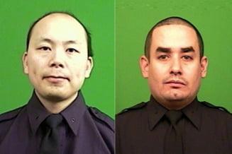 Tensiune in crestere pe strazile din New York: Doi politisti, asasinati in Brooklyn