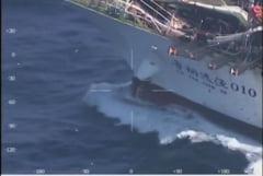 Tensiuni dupa ce Argentina a scufundat un vapor chinezesc