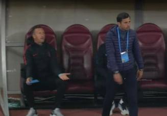 Tensiuni la FCSB: Dica l-a lovit cu o sticla pe Mihai Stoica