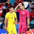 Tensiuni la Romania - Polonia: Doi fotbalisti s-au luat la cearta pe teren