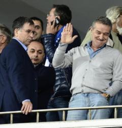 Tensiuni la Steaua: Gigi Becali, contrazis de cel mai apropiat colaborator