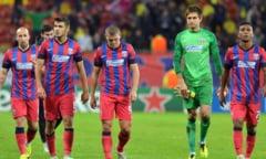 Tensiuni la Steaua: Trei jucatori pusi la zid de un conducator al echipei!