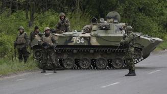 Tensiunile continua in Ucraina, inaintea negocierilor de pace: cinci morti