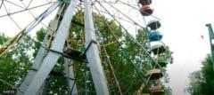Tentativa de sinucidere bizara: s-a aruncat de la inaltimea de 13 metri dintr-un carusel VIDEO