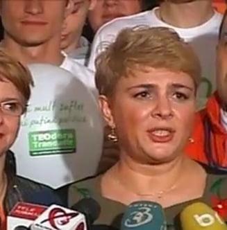 Teo Trandafir a invins-o pe Liliana Minca - rezultate partiale (Video)