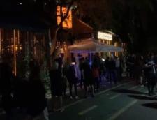 Terasele din Herastrau unde sute de tineri au petrecut sambata seara au ramas de tot fara autorizatii
