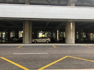 Terminalul Metrorex din Straulesti e pustiu: Oamenii parcheaza tot pe strada, pentru ca tariful e prea mare