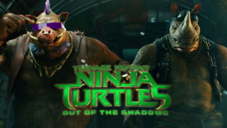 Testoasele ninja mutante ataca cinematografele din Romania - Primul loc la incasari (Video)