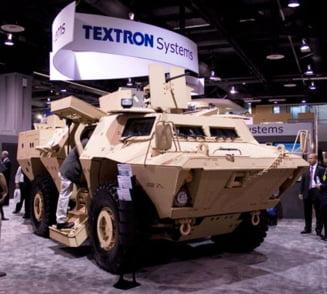 Textron va produce la Aerostar Bacau vehicule blindate pentru armata romana