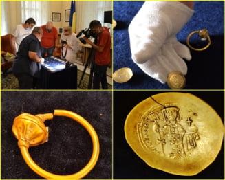 Tezaur UNICAT in romania, descoperit in sudul Prahovei. Sunt podoabe dar si... monede din electrum