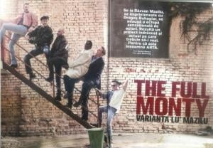 The Full Monty vine la Timisoara