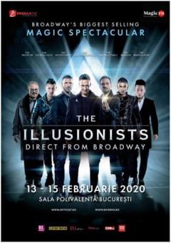 The Illusionists aduc in premiera la Bucuresti cel mai mare spectacol de magie din istoria Broadway-ului
