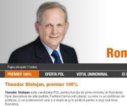Theodor Stolojan, premier 100%