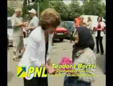 Theodora Bertzi in campanie pentru Sectorul 3
