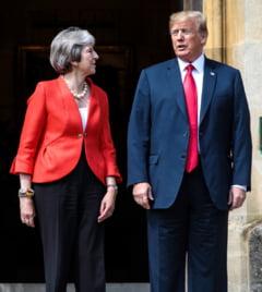 Theresa May: Trump mi-a spus sa dau in judecata Uniunea Europeana