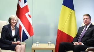 Theresa May a anulat intalnirea cu Iohannis care trebuia sa aiba loc azi la Londra