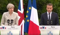 Theresa May merge inainte cu Brexitul, Macron ii spune ca inca nu e prea tarziu sa se razgandeasca (Video)