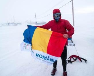 Tibi Useriu a revenit in tara: Cred ca voi face o pauza in maratonul Arctic Ultra. La aeroport l-a intampinat si Ciolos (Video)