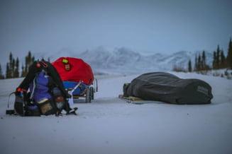 Tibi Useriu conduce Ultramaratonul Arctic - Este singurul roman ramas in aceasta cursa extrema