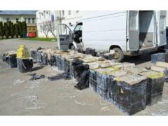Tigari confiscate in valoare de 5,77 de milioane de lei