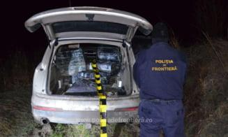 Tigari de contrabanda in valoare de peste 260.000 de lei, confiscate de politistii de frontiera