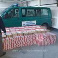 Tigari de contrabanda in valoare de peste 50.000 de euro, descoperite intr-un garaj din Suceava