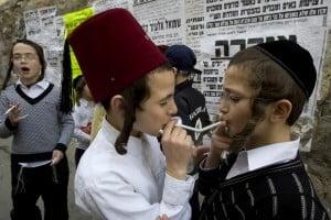 Tigarile cuser, permise evreilor in saptamana Pastelui