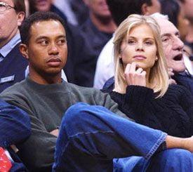 Tiger Woods, iertat de nevasta