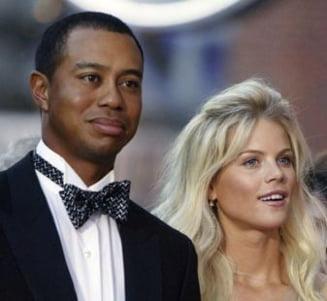 Tiger Woods, parasit de nevasta