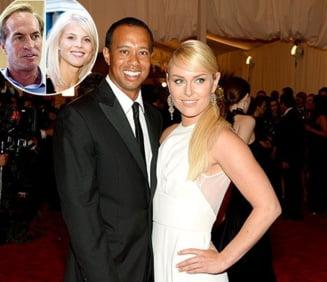 Tiger Woods si fosta sotie, intalnire in patru cu actualii parteneri
