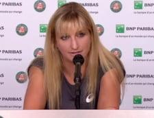 Timea Bacsinszky a izbucnit in lacrimi dupa infrangerea suferita in fata Irinei Begu, cand si-a adus aminte de copilaria petrecuta in Romania