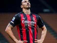 Tinerete fara batranete. La 39 de ani, Zlatan Ibrahimovic a revenit titular dupa o accidentare si a dat doua goluri pentru Milan