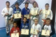 Tinerii judoka oradeni au reusit 13 clasari pe podium la un concurs international de la Tg. Mures