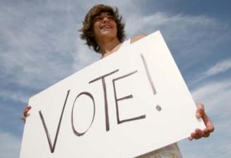 Tinerii nu ar trebui sa aiba drept de vot de la 16 ani - sondaj