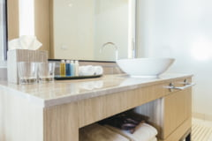 Toalete perfect igienizate cu produse profesionale