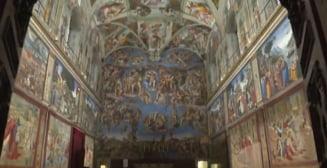Toate cele 12 tapiserii create de Rafael au revenit dupa cinci secole in Capela Sixtina (Video)