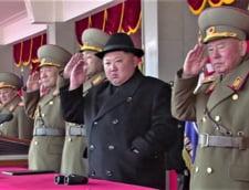 Toate fetele facute de Kim Jong-un la parada militara din Coreea de Nord