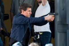 Tom Cruise si-a rupt glezna la filmari. Productia ''Mission: Impossible 6'' a fost intrerupta