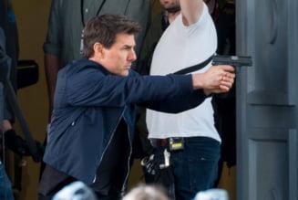Tom Cruise si-a rupt glezna la filmari. Productia ''Mission: Impossible 6'' a fost intrerupta