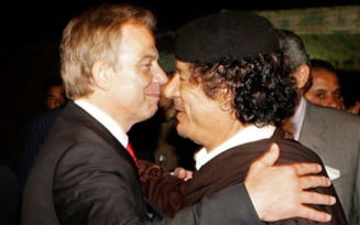 Tony Blair ar fi complotat in secret cu Moammar Gaddafi - ce ii scria fostul premier britanic (Foto)