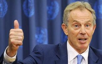 Tony Blair vine la Bucuresti