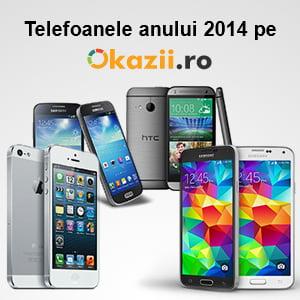 Top 5 - cele mai vandute modele de smartphone pe Okazii.ro in 2014