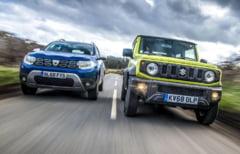 Top Gear a comparat Dacia Duster cu Suzuki Jimny: Iata la ce concluzie a ajuns si ce note le-a acordat