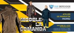 TopDefender.ro, magazinul TAU de echipamente pentru protectia muncii