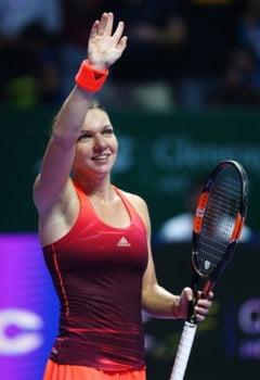 Topul castigurilor din 2015 in tenis - performanta extraordinara pentru Simona Halep