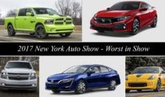 Topul celor mai slabe masini la Salonul Auto de la New York
