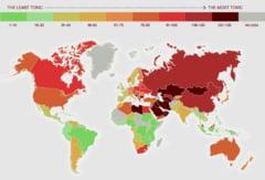 Topul celor mai toxice tari din lume si cum sta Romania