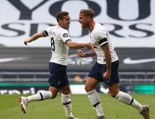 Tottenham a invins Arsenal Londra, in derbyul Londrei, cu 2-1, revenind de la 0-1