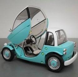 Toyota Camatte, masina pe care o vor putea conduce si copiii (Video)